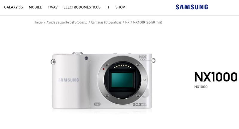 Samsung NX1000 User Manual PDF
